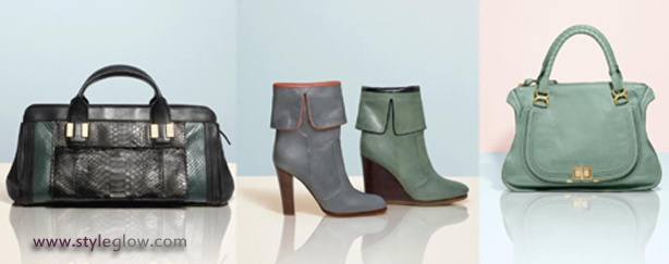 Chloe Winter Collection of Bags and Shoes for Women