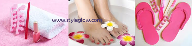 Pedicure at home to protect your feet from infection