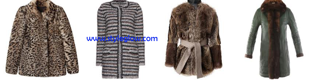 Winter tops, shirts, long coats and jackets for girls