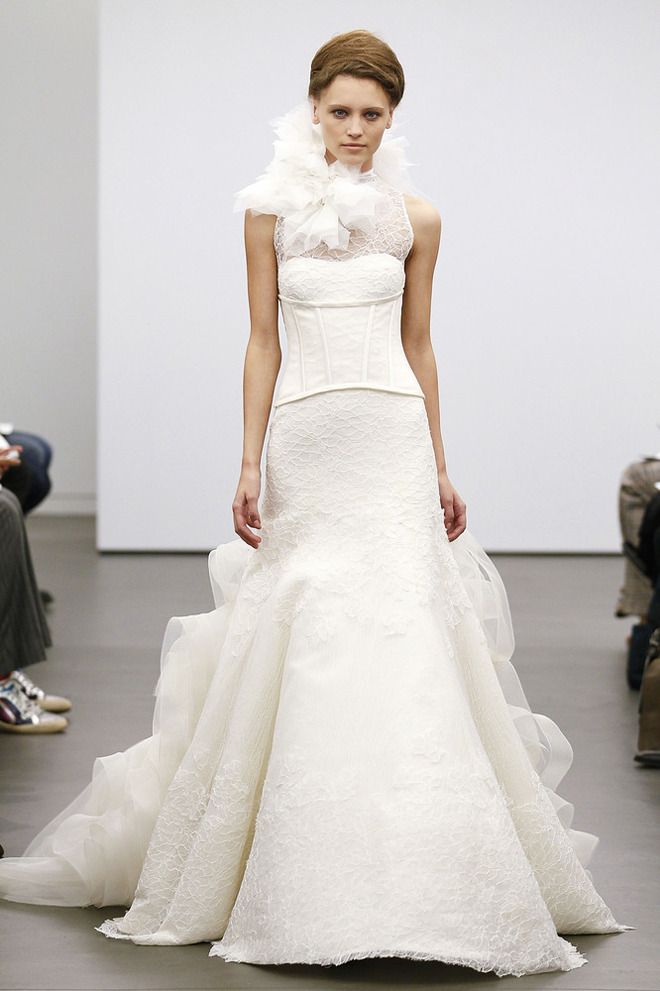 Vera wang fall 2013 wedding gown collection for Best vera wang wedding dresses