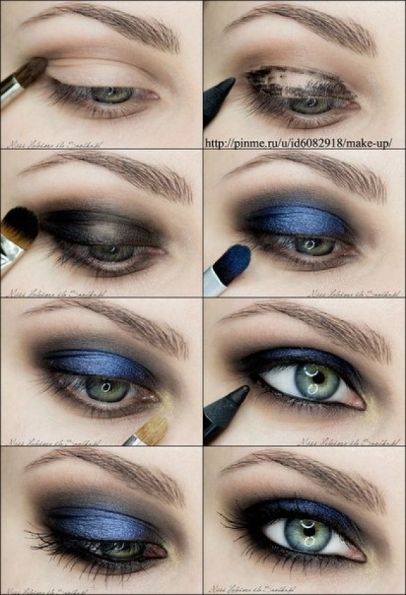 How To Do Bridal Makeup Tutorial : Best Eye Makeup Tutorials Everyday And Bridal Prom And ...