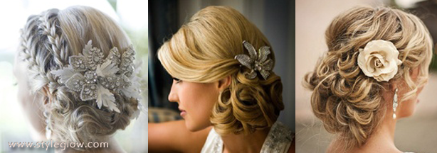 wedding updos trends 2016-2017