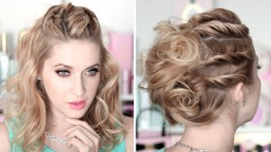 twist hairstyle for weddings