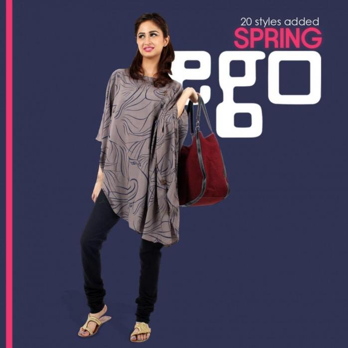 472e017409a1 Latest Pakistani Summer Shirts 2017 For Girls - StyleGlow.com