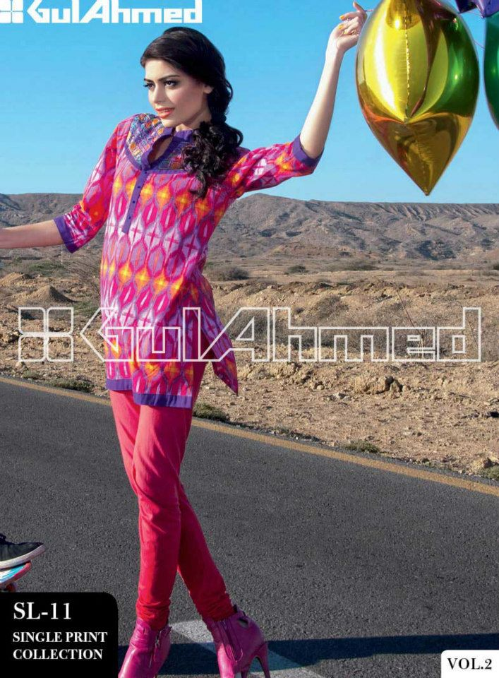 30624b11d Latest Pakistani Summer Shirts 2017 For Girls - StyleGlow.com