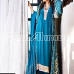 Gul Ahmed Elegant Pakistani Fashion Party Wear Dresses 2017