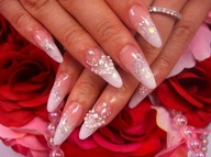 latest bridal nail art designs 2-16-2017