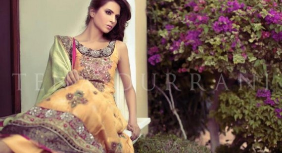 Tena Durrani 2017 Latest Pakistani Party & Wedding Collection For Women