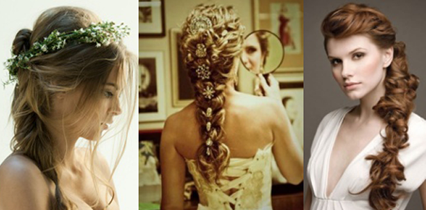 braided wedding hair ideas 2016-2017
