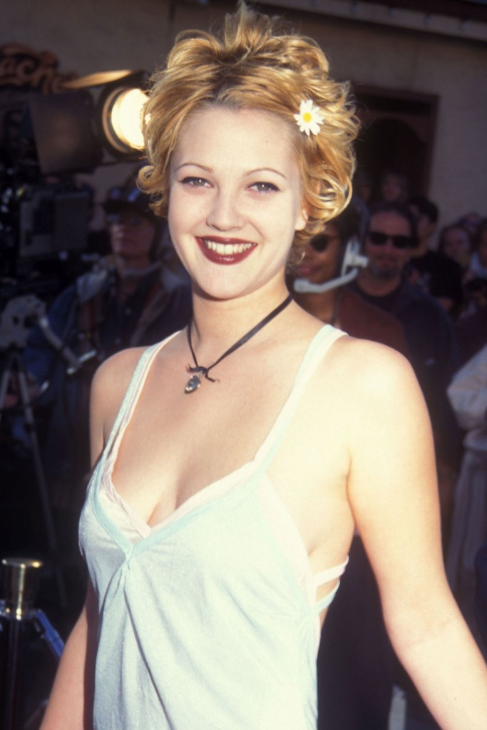 drew barrymore short hairstyle
