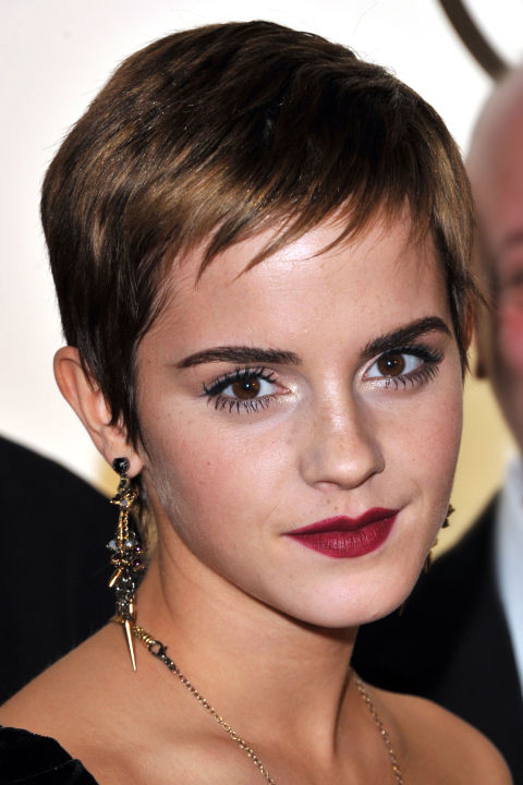 emma watson grown out pixie 2020