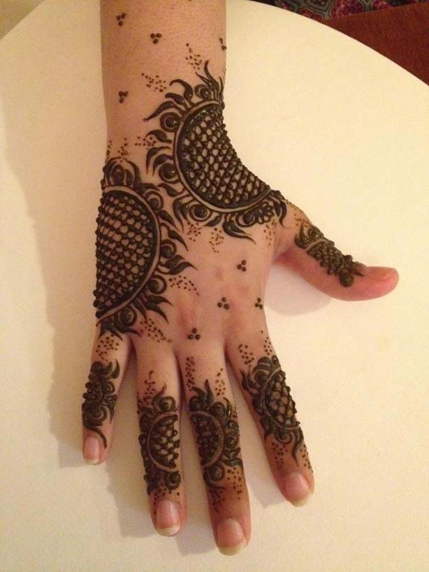 Best Eid & Wedding Mehndi Designs For Girls-Women 2013
