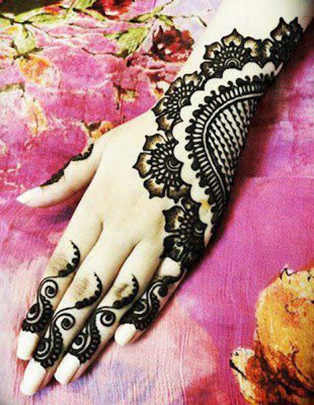 Latest Wedding Mehndi Designs 2018 For Hands In Pakistan