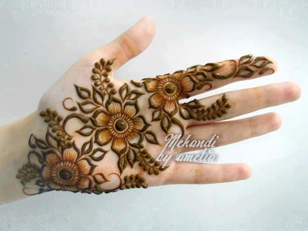 Best Bridal Mehndi Designs For Girls 2016