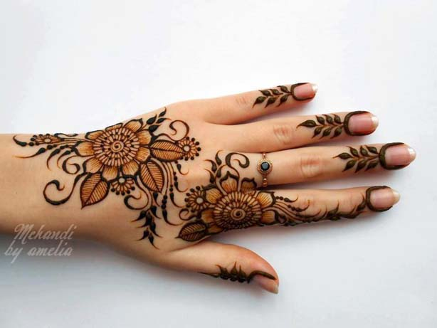 Best Eid & Wedding Mehndi Designs For Girls-Women 2016