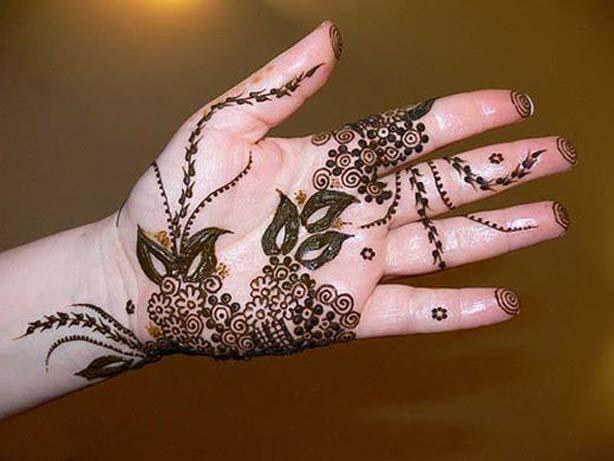 Bridal Hand henna designs