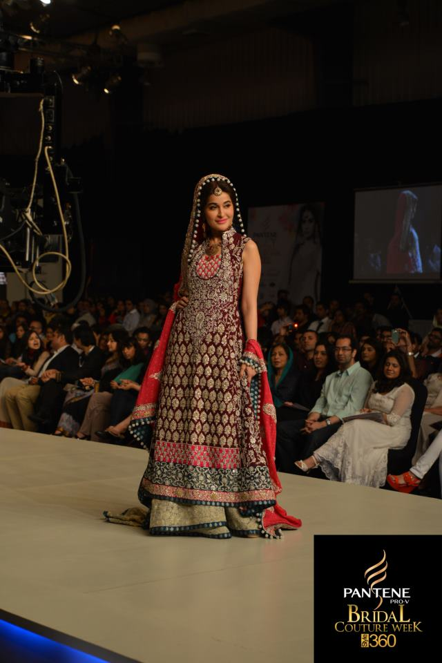 Pakistani fashion wedding frocks