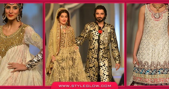 Latest Pakistani Wedding Frocks 2017