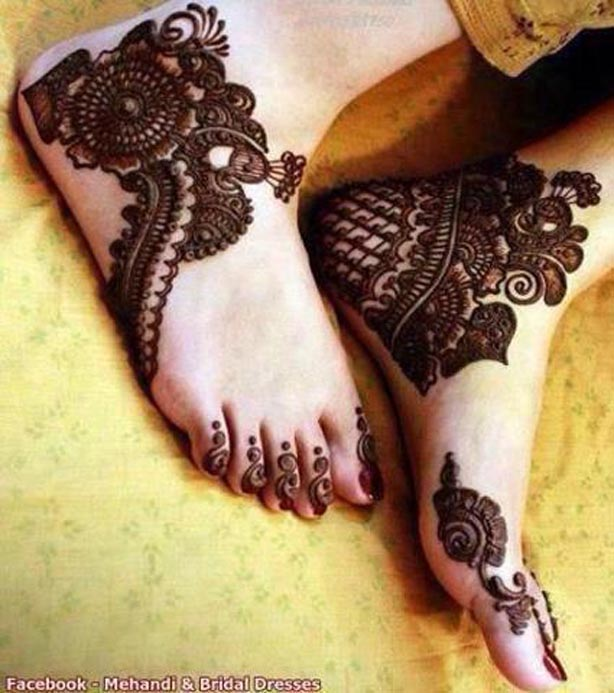 Latest Arabic & indian Mehndi Designs For Girls
