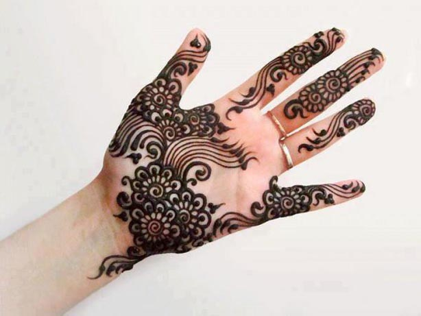 2013 New Arabic & indian Eid Mehndi Designs For Girls-Mehndi Design Collection