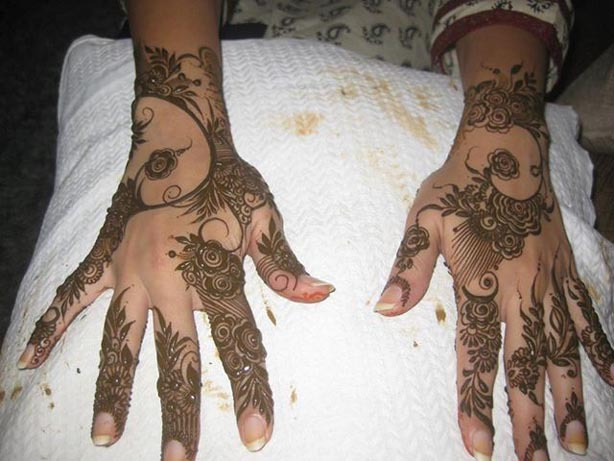 New Indian Eid Mehndi Designs Collection