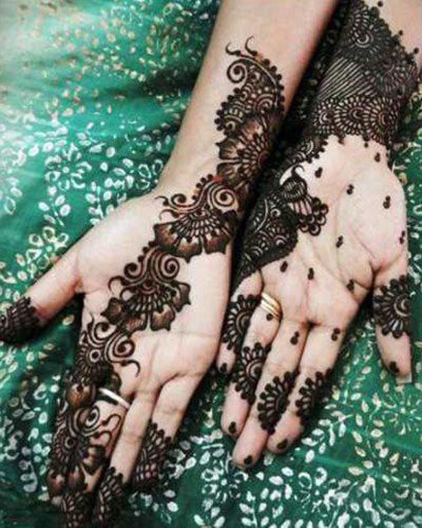 Arabic Mehndi Designs For Girls 2017
