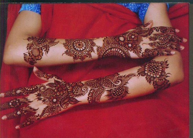 Beautiful Bridal Mehndi Designs 2017