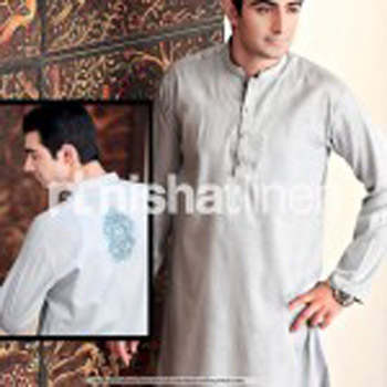Latest & Elegant 2017 Men Eid Kurta Shalwar Collection-Naqsh