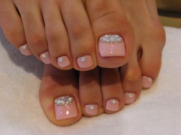 Stylish Pedicure Nail Art Ideas 2016-2017