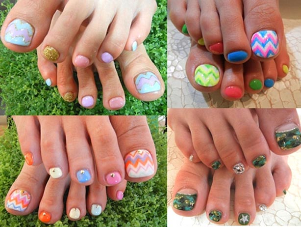 most Beautiful Pedicure Nail Art Ideas 2016-2017