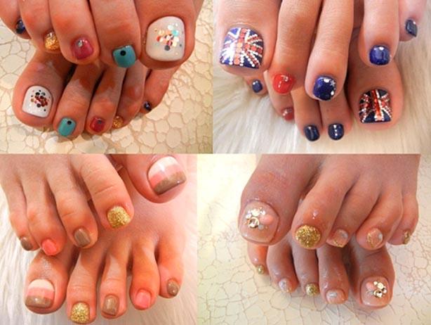 latest toe nail designs 2017
