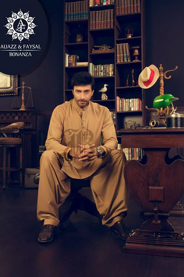 Latest Bonanza Kurta Shalwar Eid Collection 2017 for Men