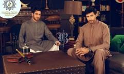 Latest Bonanza Kurta Shalwar Eid Collection 2017 for Men