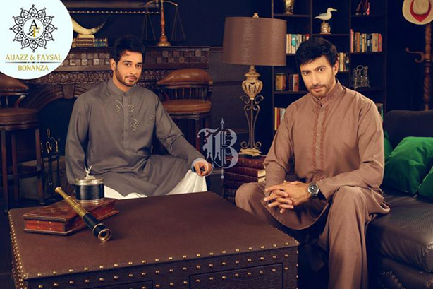 Latest Bonanza Kurta Shalwar Eid Collection for Men