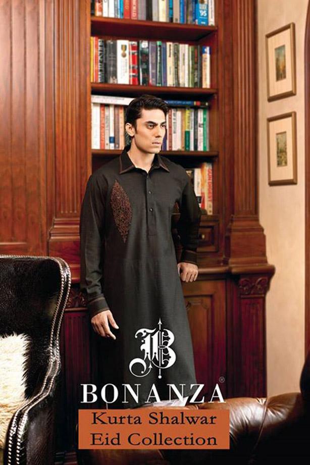 Latest Bonanza Kurta Shalwar Eid Collection 2019 For Men
