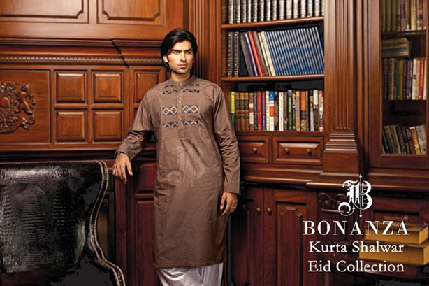 Bonanza Kurta Shalwar 2018 for Men