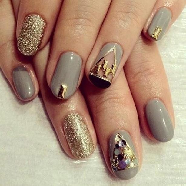 beautiful prom nails 2017