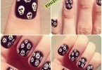 4 Best Easy & Charming DIY Halloween Nail Art Design Tutorials
