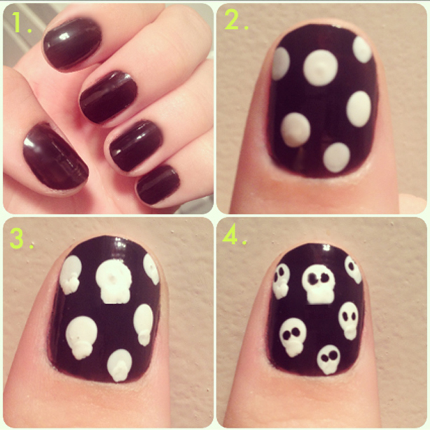 If accent nails are more your thing, try adding a little ghost to ...