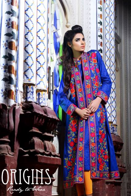 Latest & Stylish Pakistani Ready to Wear Eid Collection for Girls by Origins