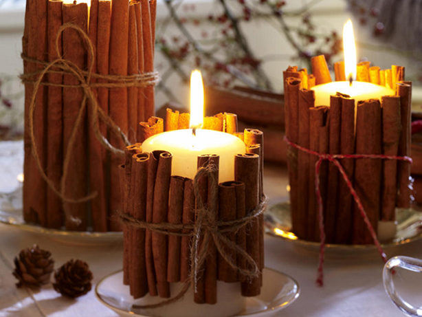 Easy Christmas Candle Decorating Ideas - Candle Decorations