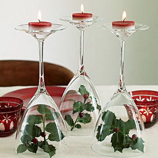 Easy Christmas Candle Decorating Ideas - Candle Decorations ...
