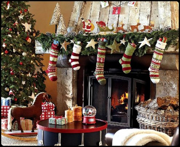 Cheap Christmas House Decorating Ideas | Easy Christmas Decorations ...