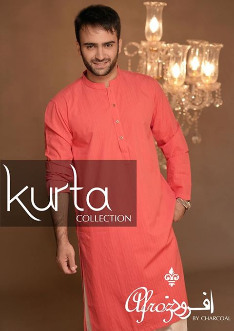 Top Pakistani Winter Kurta Shalwar Charcoal