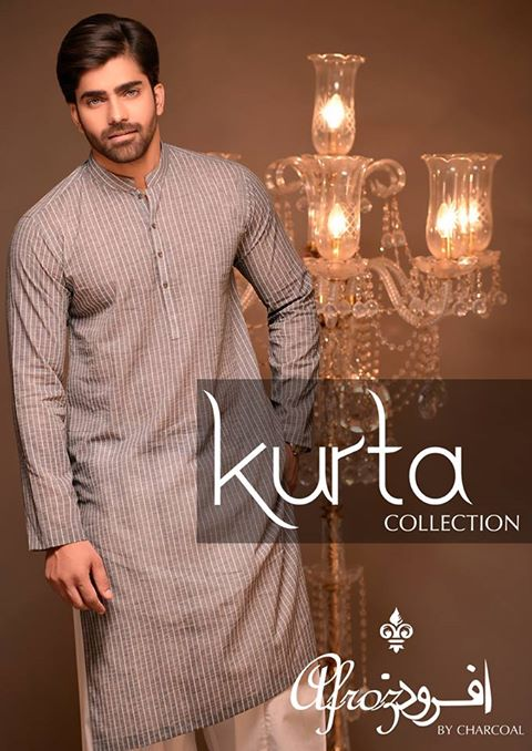 Top Pakistani Winter Kurta Shalwar 2017 for Men by Charcoal
