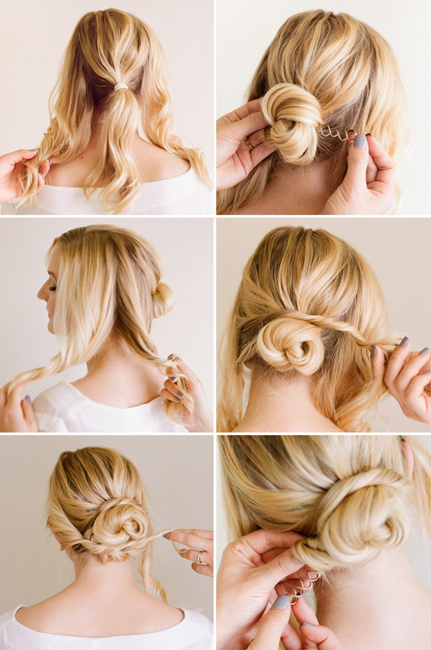 Low Bun Hair Styling 2017