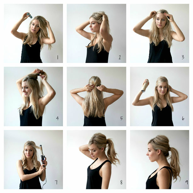 Ponytail new hairstyle 2017