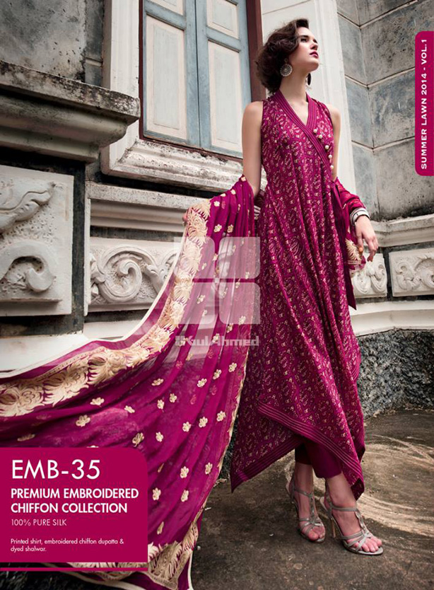Pakistani dresses Lawn Designs