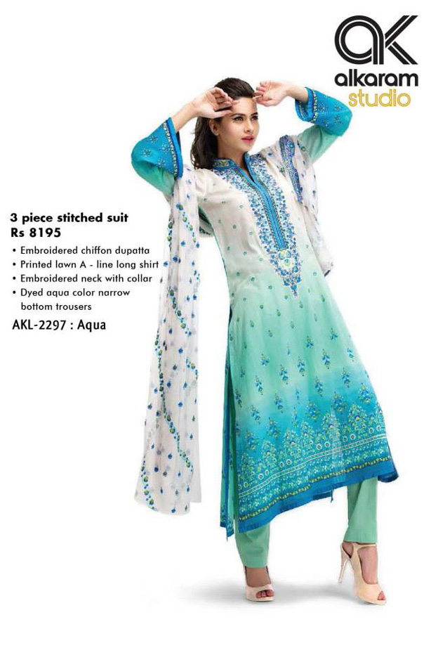 Latest alkaram Summer Dresses
