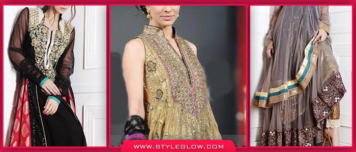 Latest Pakistani Fashion Frocks 2017